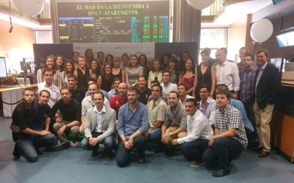 Only-apartments fête son entrée dans le marché espagnol Alternative Stock Exchange (MAB)