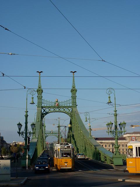 Route du design à Budapest