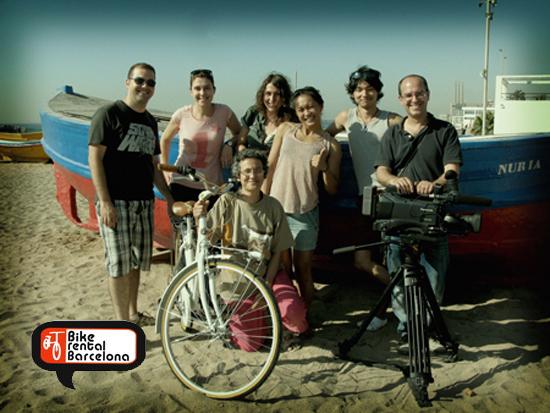 Making of BikeRental a Barcelone