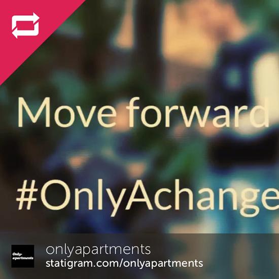 #OnlyAchange