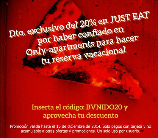 Only-apartments + Just-Eat