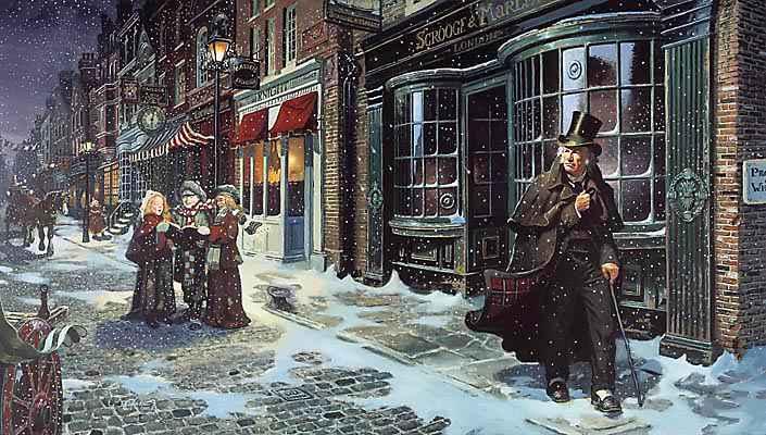 L'histoire de Dickens et son Conte de Noël