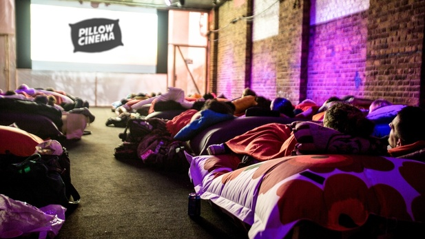 Pillow Cinema et Hot Tub Cinema à Londres