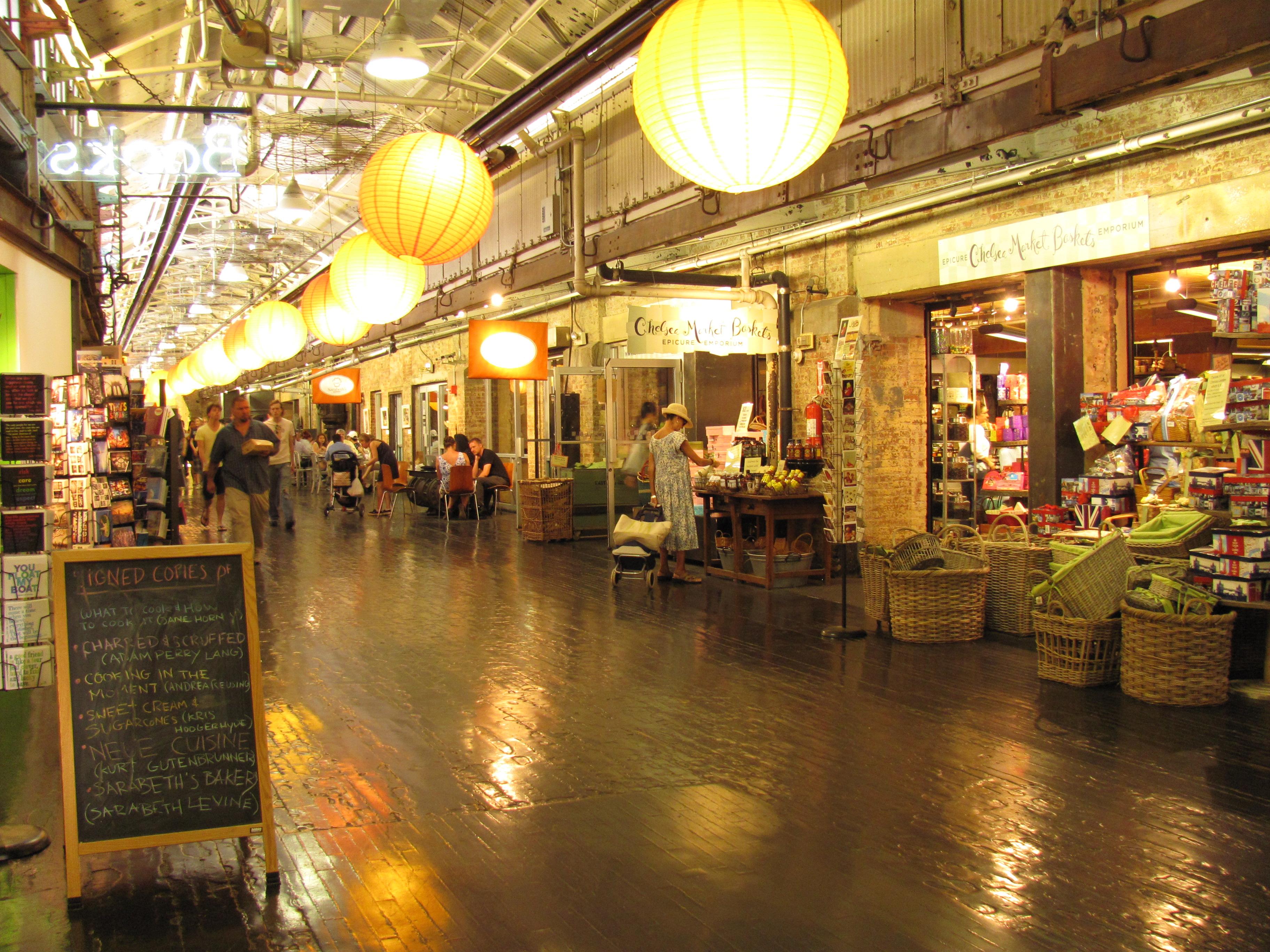 Itinéraire dans les marchés de New York