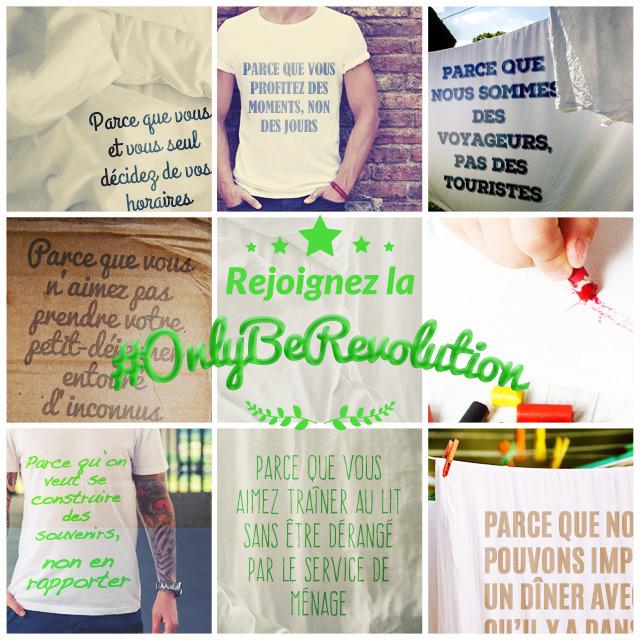 Rejoignez la #OnlyBeRevolution et gagnez un voyage pour deux personnes