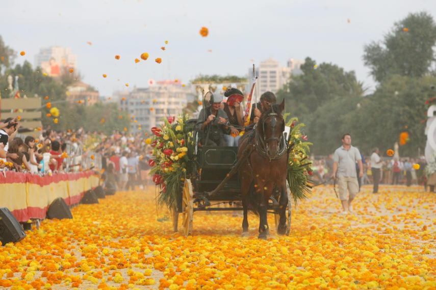 La Bataille des Fleurs de Valence