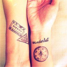 Tatouages de voyages