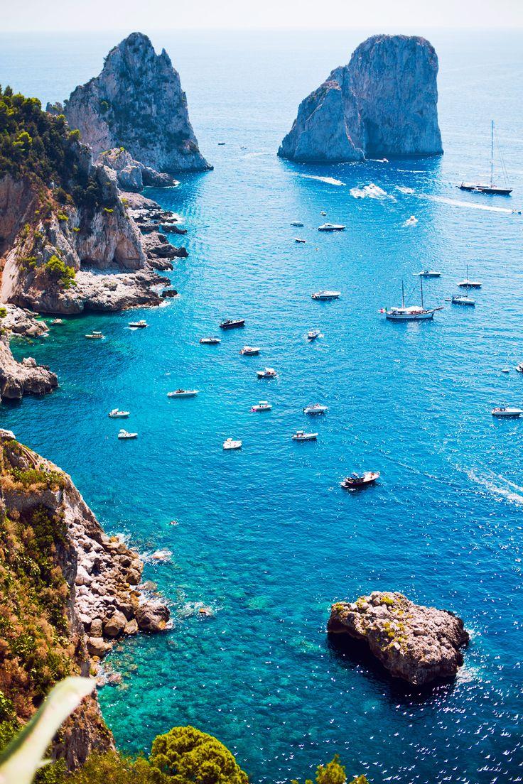 Capri, un petit bijou en Campanie