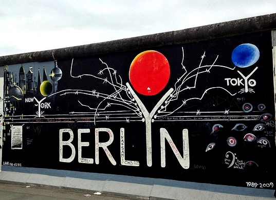 La chute du Mur de Berlin. East Side Gallery