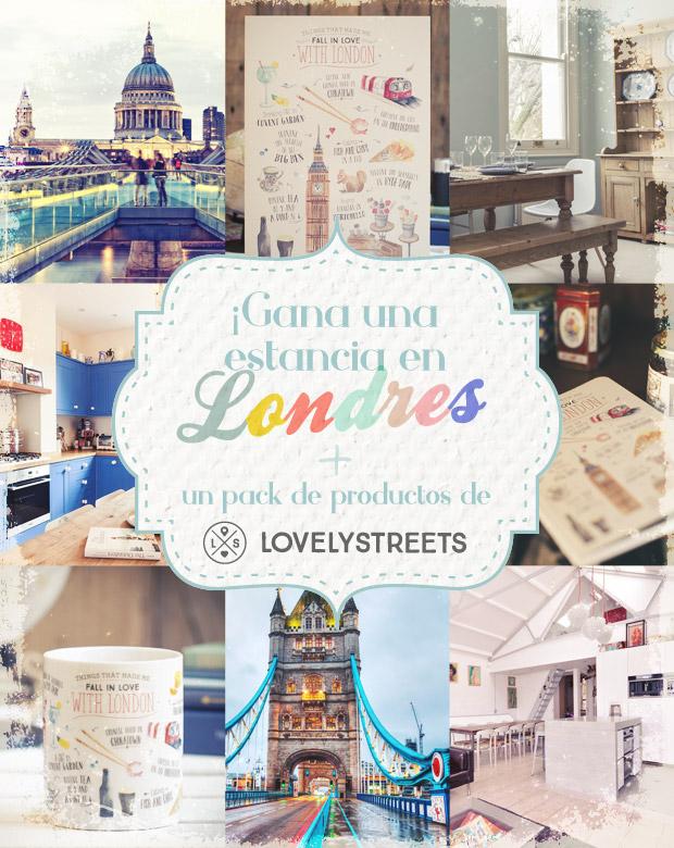 Gagnez un séjour à Londres + un pack de produits de Lovely Streets!