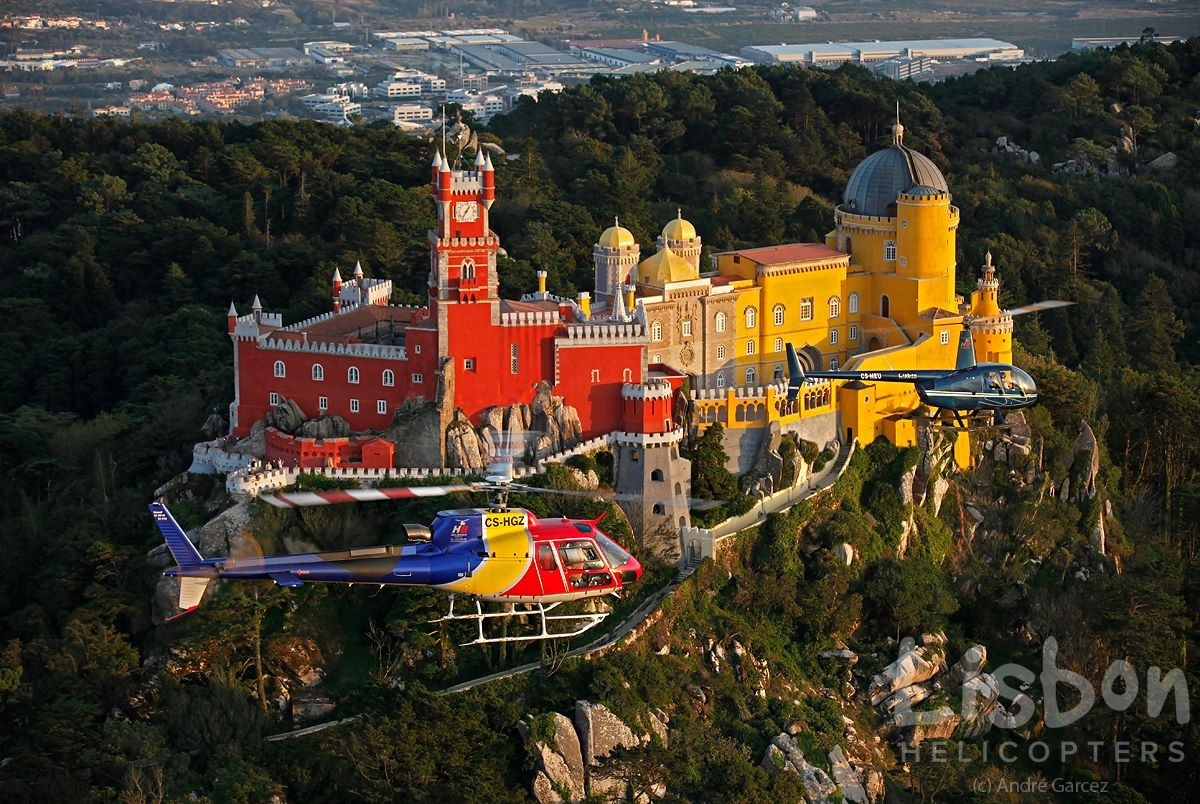 Lisbonne par air, mer et terre